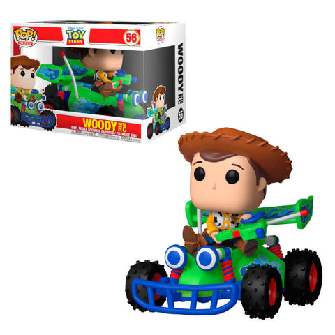 POP figure Disney Pixar Toy Story Woody with RC
