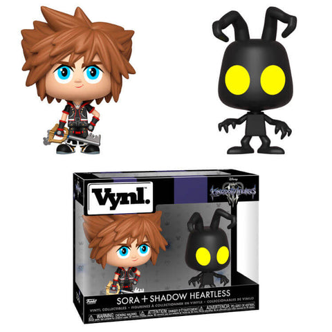 Vynl figures Disney Kingdom Hearts 3 Sora & Heartless