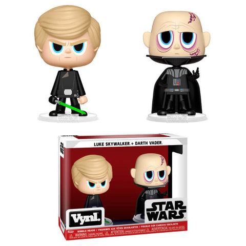 Vynl figures Star Wars Darth Vader & Luke Skywalker