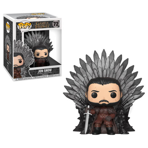 POP figure Game of Thrones Jon Snow Sitting on Throne