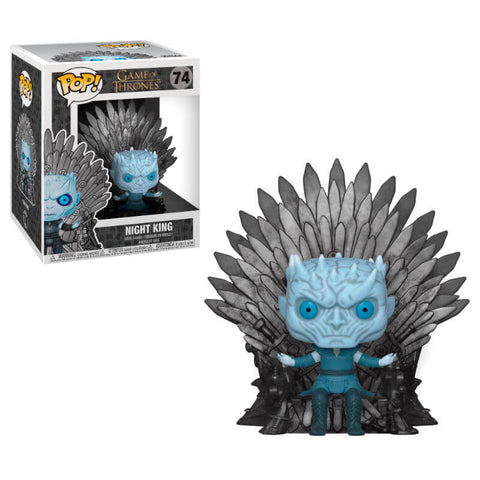 POP figure Game of Thrones Night King Sitting on Throne