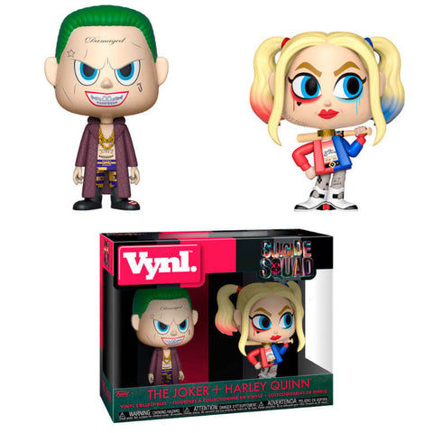 Vynl figures DC Suicide Squad The Joker & Harley Quinn