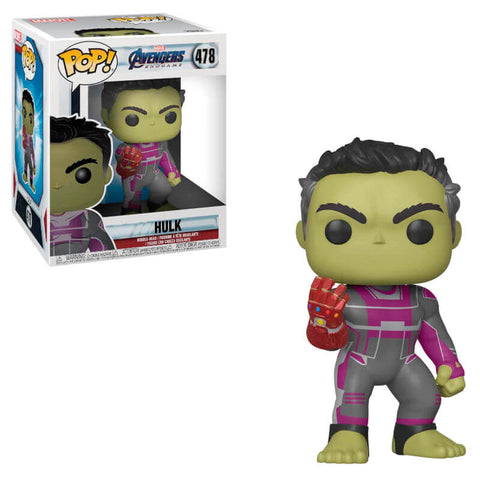 POP figure Marvel Avengers Endgame-Hulk with Gauntlet 15 cm
