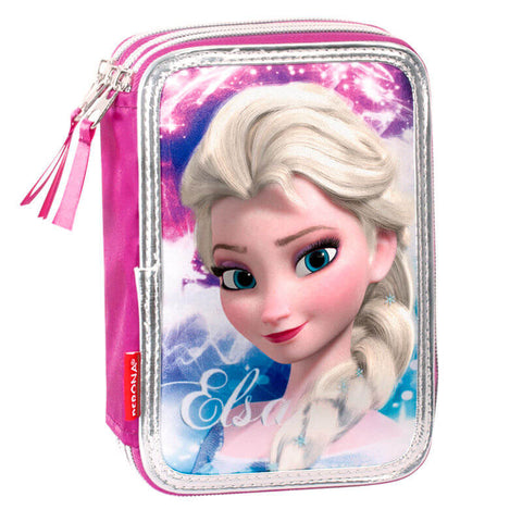 Perona: Frozen Disney Shining Triple pencil case 45 Pieces