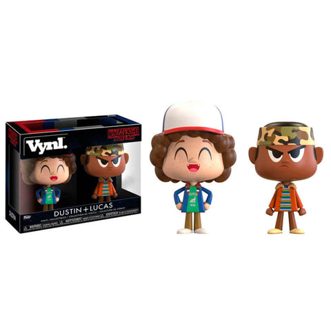 Vynl figures Stranger Things Dustin and Lucas
