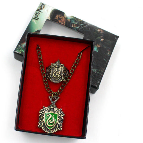 Slytherin Pendant and Ring