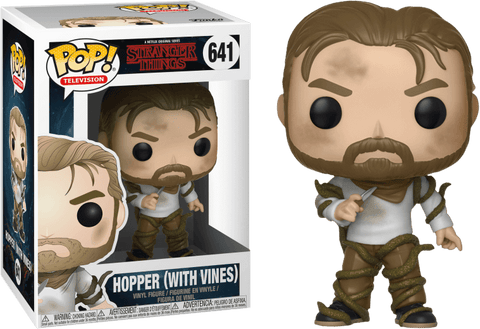 POP figure Stranger Things Hopper with Vines