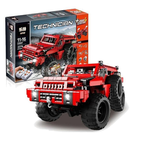 Lepin: Maraud Off-Roader 4×4 Motorized