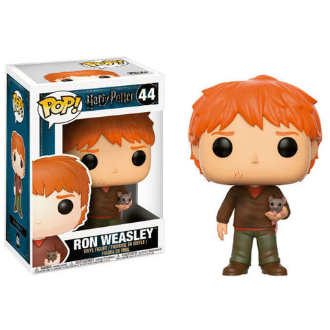 POP figure Harry Potter Ron Weasley with Scabbers