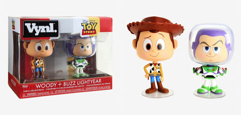 Vynl figures Disney Toy Story Woody and Buzz