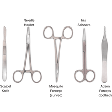 Load image into Gallery viewer, stainless steel suturing medical instruments