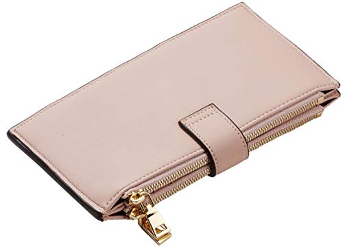 Womens Genuine Leather RFID Blocking Wallet