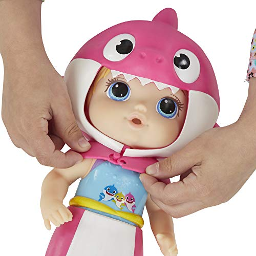 Baby Alive Baby Shark Blonde Hair Doll