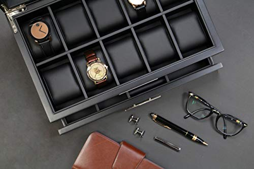 Executive Wooden Watch/Sunglasses/Jewelry Box