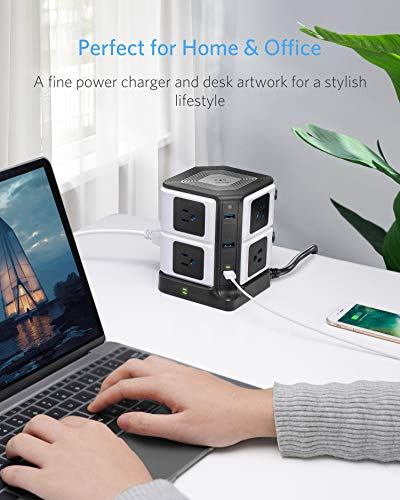 Wireless Charger 8-Outlet Power