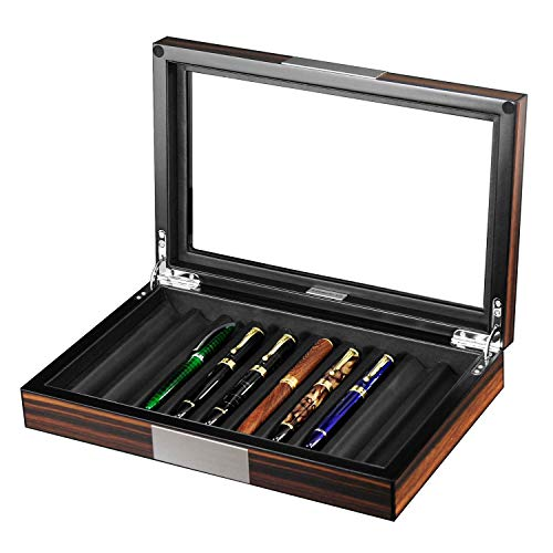 Luxury 10 Pen's Organizer wooden Box