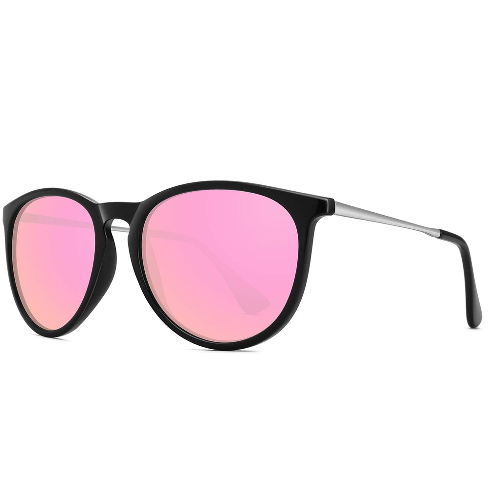 WOWSUN Women Pink Polarized Sunglasses - Shade & watches