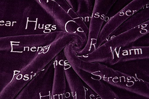 Warm Hugs Positive Energy Healing Caring Blanket - Gift - Shade & watches
