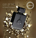 Armaf Club De Nuit for Men New in Box, Black , 3.6 Fl Oz - Shade & watches