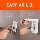 Space Saving Outlet Shelf