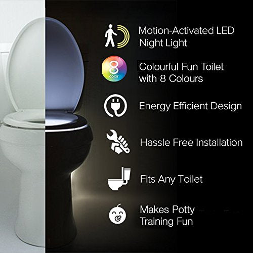 The Original Toilet Night Light Tech Gadget