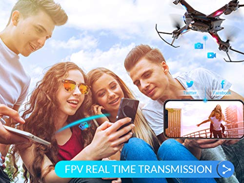 720P HD Camera,Voice Control Wifi Drone