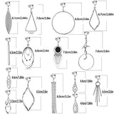 15 Pairs Wholesale Clip on Earrings for Women Fashion