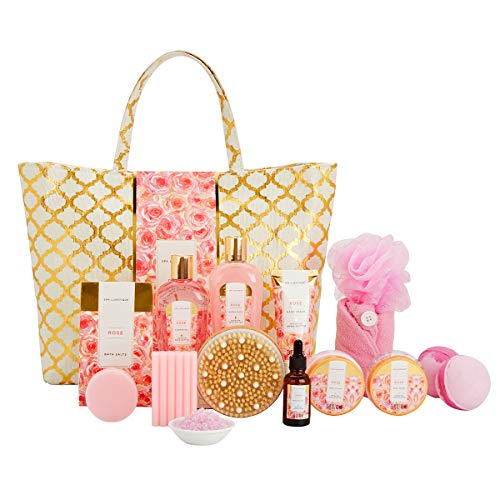 Mother's Day,15 Pcs SPA & Bath and Body Gift Set, - Shade & watches