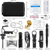 Professional Survival Gear, 18 in 1 Emergency Survival Kit