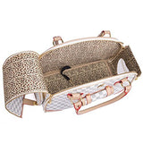 WOPET -Fashion Pet Dog Carrier PU Leather Handbag