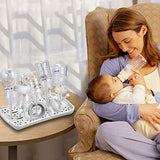 Baby Bottle Drying Rack with Tray