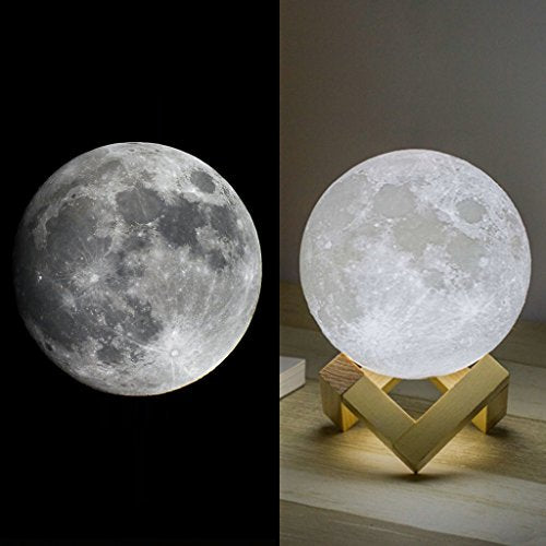 Moon Lamp touch control 3D brightness