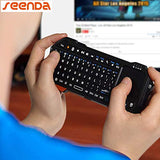 Mini Wireless Keyboard with smart Touch-pad