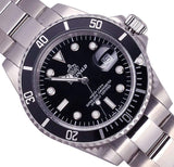 Men's Rotatable Bezel Sapphire Glass Watch
