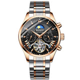 Men's Waterproof Automatic Mechanical Watch - Shade & watches