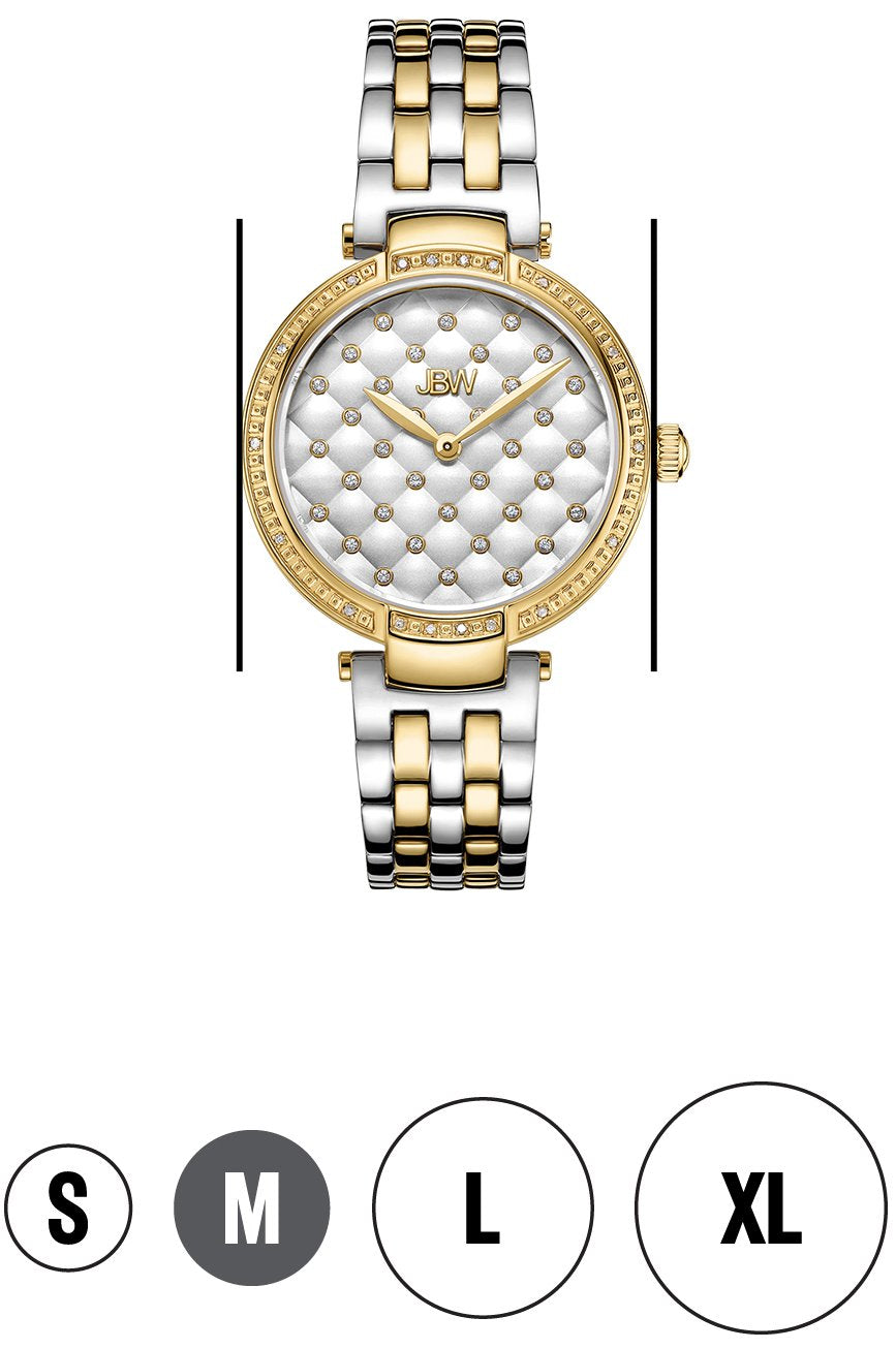 Women 18 Carat Diamond Crystal Stylish Watch