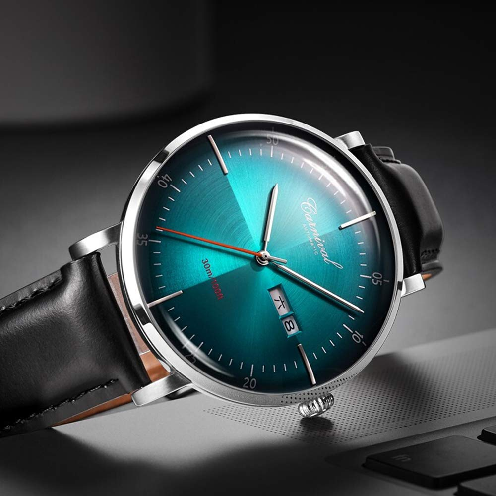 Men's Automatic Ultra-Thin Round Watch