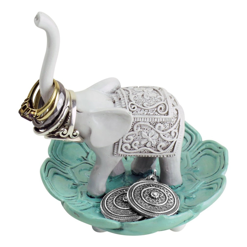 Elephant-Jewelry Bowl/Stand-Earring/Necklaces - Shade & watches