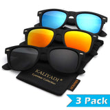 UniSex -Polarized Color Mirror Lens Sunglasses - Shade & watches
