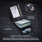 Stylish Clip RFID Blocking Leather Men's Wallets- Gift - Shade & watches
