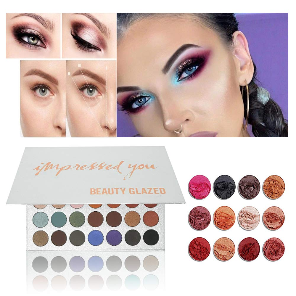 New Beauty Glazed Eyeshadow Palette