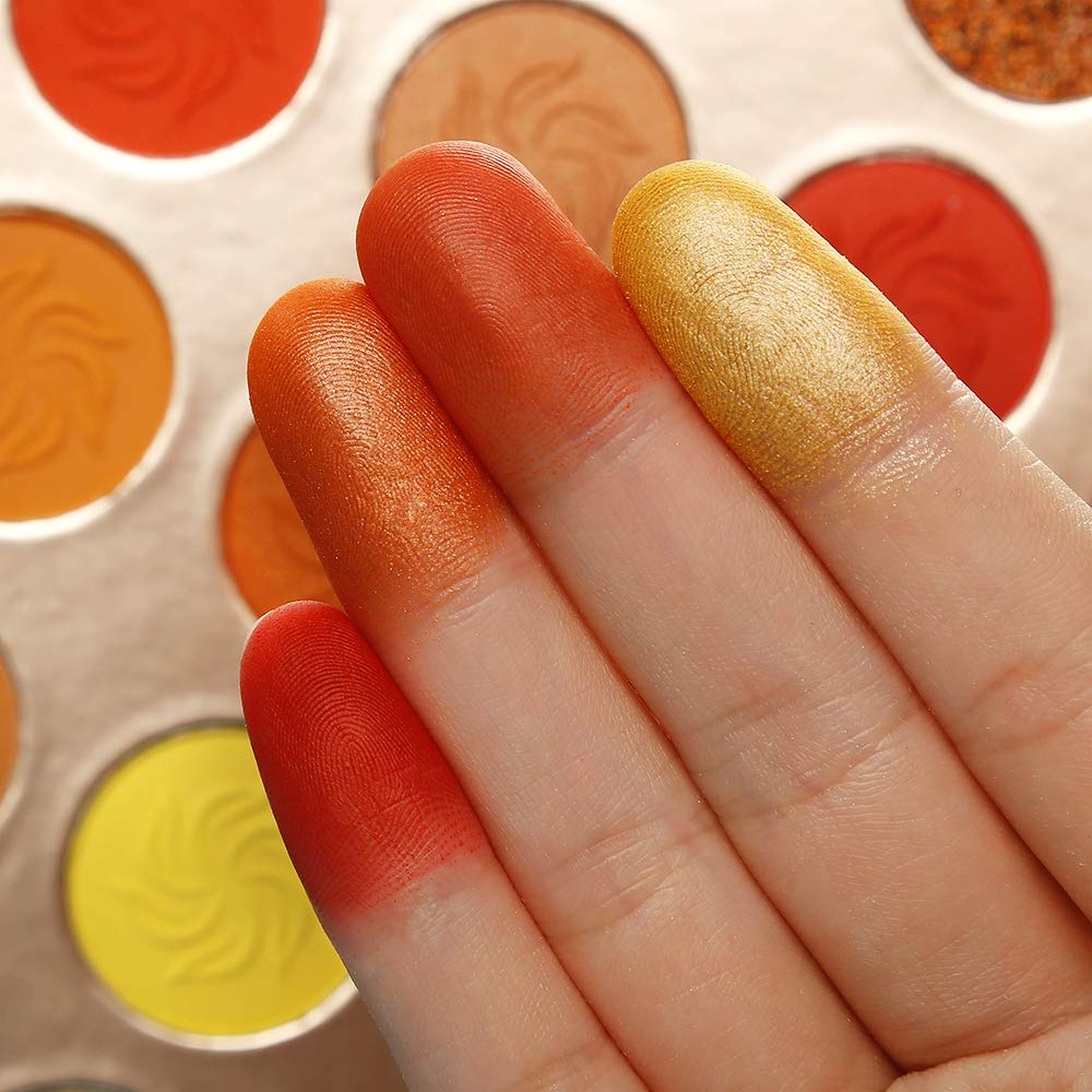 Red Orange Eyeshadow sunsets 15 Colors - Shade & watches