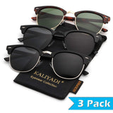 Men's Semi-Rimless driving Sunglasses