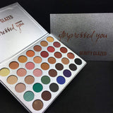 New Beauty Glazed Eyeshadow Palette - Shade & watches