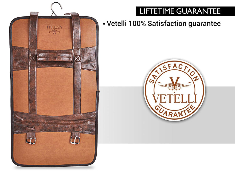 Vetelli Hanging Toiletry Bag gift for Mens - Shade & watches