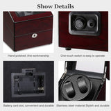 Luxury Leather Watches & Storage Box - Shade & watches