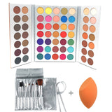 Professional Makeup 63 Colors EyeShadow - Shade & watches