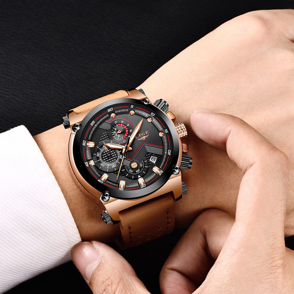 Men's Casual Fashion Sport Quartz Watch - Shade & watches