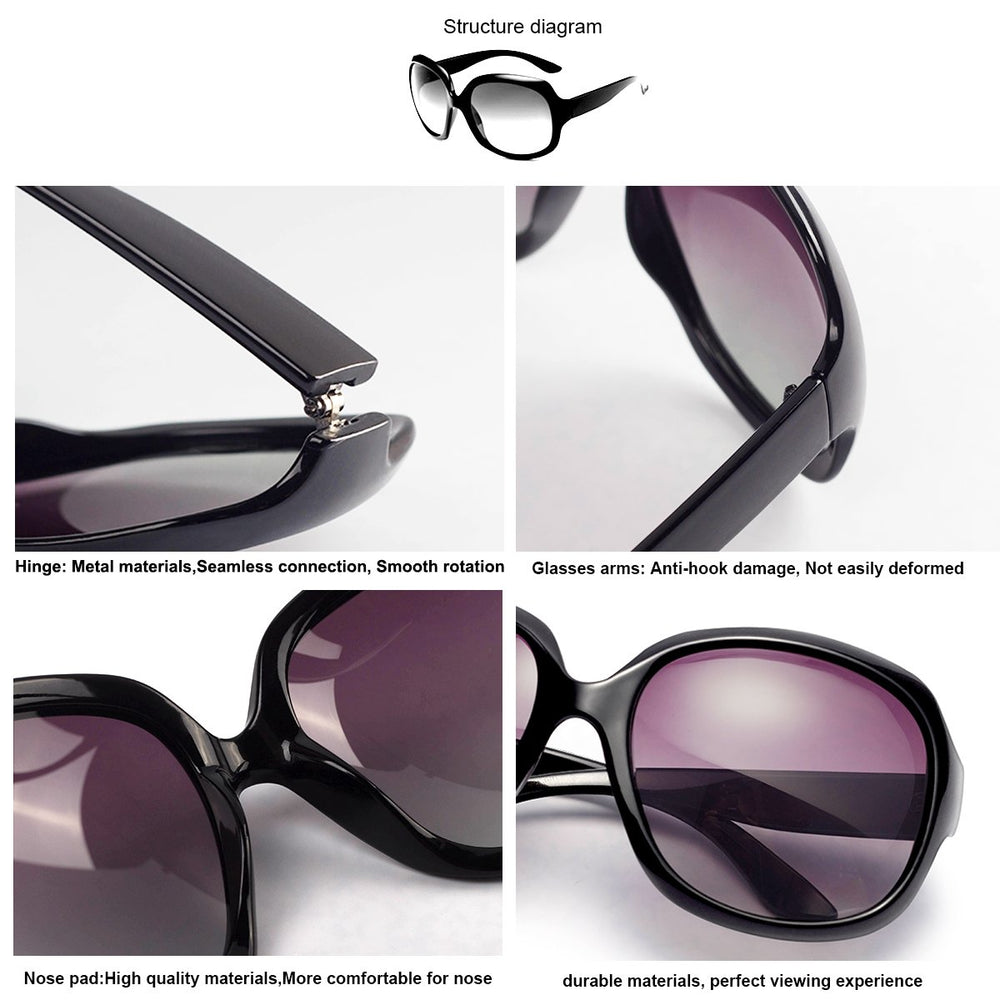 Polarized Stylish Sunglasses for Women - Shade & watches