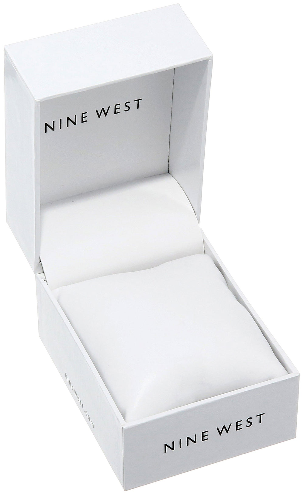 Nine West Women Rose Gold & Silver Bracelet Watch